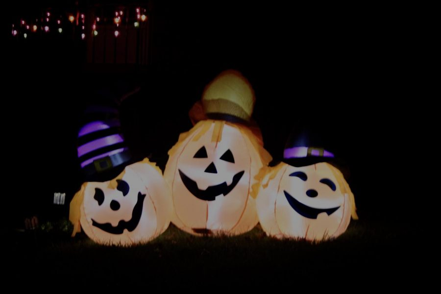 Halloween house decorating has almost become as popular as Christmas decorating. Glowing pumpkins and lights hanging from the eaves of houses are common in October and brighten the neighborhoods around Millcreek.